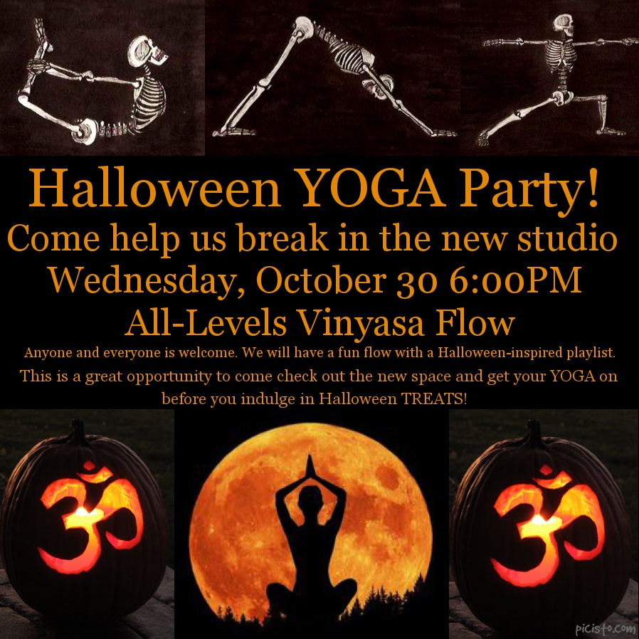 Halloween Yoga Party!